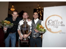 Vinnartrion i Coffee Professionals Cup 2013