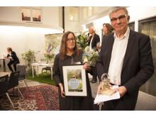 Ellinor Eke och Peter Örn - Sveriges mest hållbara kontorshyresgäst