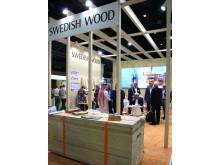 Svenskt Trä på Dubai Wood Show 2014_Bild 4