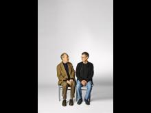 Gösta Ekman och Klas Gustafson