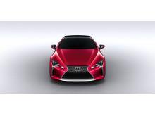 Världspremiär för nya prestandakupén Lexus LC 500