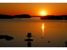 Sunset in Rauma