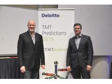 Duncan Stewart, director på Deloitte och Erik Olin, Partner Deloitte