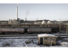 The shunting yard in Gothenburg