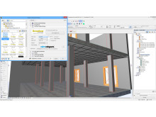 Ecophon creates its acoustics systems as BIM objects