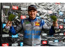 Eric Färén segrare Supercar- Solvalla