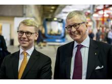 Kristoffer Tamsons och Sven-Christer Nilsson i Blåsut