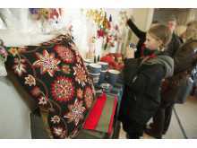 Julmarknad på Hässleholmsgården i Hässleholm