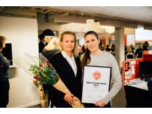 Goodyear vinnare av Årets Nyhetrum 2015