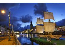 Astrakan i Stora Hamnkanalen - startskott för 2021-projektet
