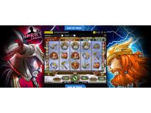 Hall of gods slot machine at HarryCasino
