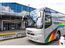 Flygbuss på Bromma Airport
