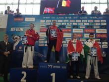Truls Hotvedt  fra Tønsberg Taekwon-Do Klubb  vant EM
