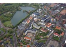 Flygbild Malmö sjukhusområde 1