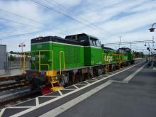Projekt med start-stopp-funktion på diesellok