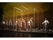 Göteborgs Stadsteater Affären danton Ensemblebild