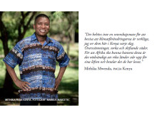 Mithika Mwenda, koordinator på klimatnätverket Pan African Climate Justice Alliance.