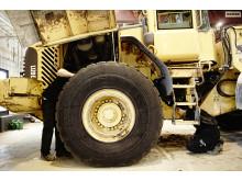 Swecon begagnade reservdelar - demontering hjullastare