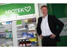 Anders Nyberg, vd Apotek Hjärtat
