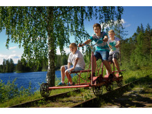 Cykla dressin i Vansbro