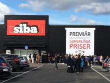 Kö till SIBA Örebro tidig morgon