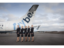 Flybe cabin attendants