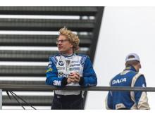 Fredrik Larsson jagar från tredjeplatsen