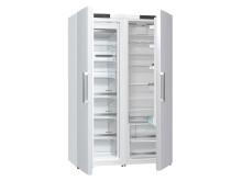 Kjøleskap og fryser i hvit
