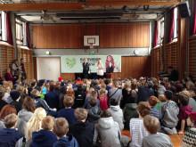 Skånska och danska skolbarn möttes inför Eurovision School contest