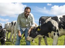 Amir samarbetar med Skånemejerier