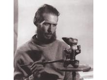 Porträttbild av Anders Bruno Liljefors på Gustavsberg