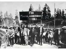 Demonstrationståg i Ådalen 1931