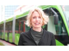 Iris Rehnström, miljö- och hållbarhetstrateg, Skånetrafiken