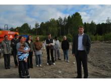 Första spadtag för assistansboende i Örebro