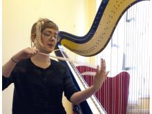 Maria Horn, kompositionsstudent på Kungl. Musikhögskolan (KMH)