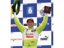 Robert Dahlgren är tillbaka i STCC 2016 med Polestar Cyan Racing
