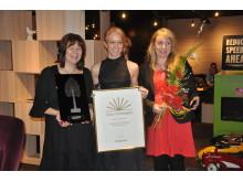 Årets företagare i Väsby 2011. Utsedd mars 2012.