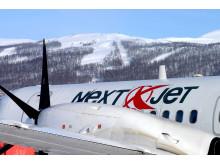 Next Jet på Hemavan Tärnaby airport