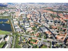 Flygbild Malmö sjukhusområde 2