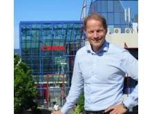 Magnus Blegen, markedsdirektør for bedriftsløsninger