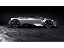 Spænd sikkerhedsselen: 0 til 100 km/t på blot 1.73 sekunder i PEUGEOT Vision Gran Turismo