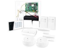 Larmpaket-XL, GSM-larm med trådlösa detektorer och siren