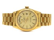 Klockor 11/4, Nr: 8, ROLEX, Oyster Perpetual, Day-Date, Chronometer, Ref nr. 1803
