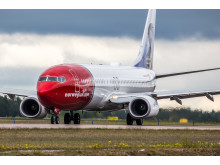 Norwegian's Boeing 737-800 aircraft