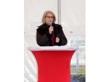 Regionstyrelsens ordförande, Pia Kinhult