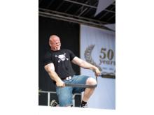 Magnus Samuelsson på 50-årsfirande