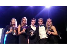 Fem svenskar bland Europas bästa truppgymnaster
