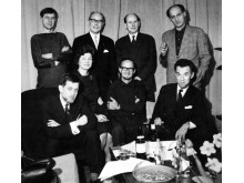 Några medlemmar i KIF:s första styrelse