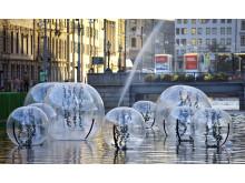 Bubblor i Stora Hamnkanalen - startskott för 2021-projektet