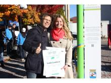 Miljöteknikföretaget Solelia utnämnt till Grönt Föredöme av Gröna Bilister
